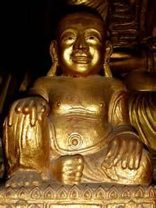 Myanmar gold Buddha