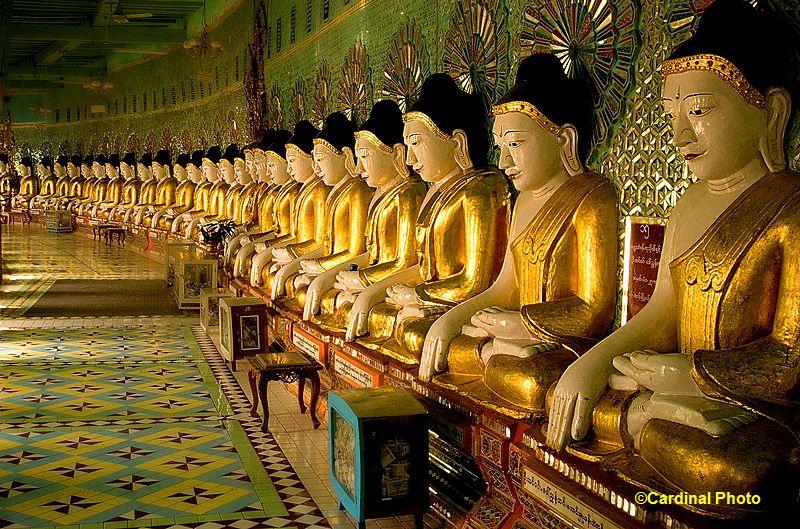 Myanmar Gold Buddha_Statues_Burma