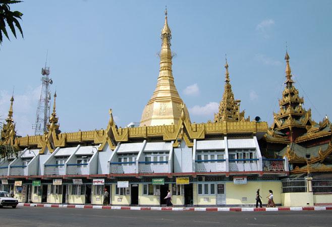Myanmar sule-pagoda-yangon