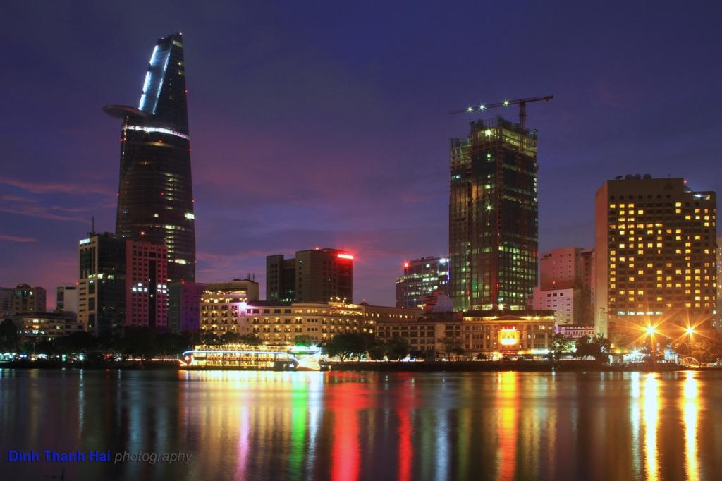 Vietnam ho chi minh city night